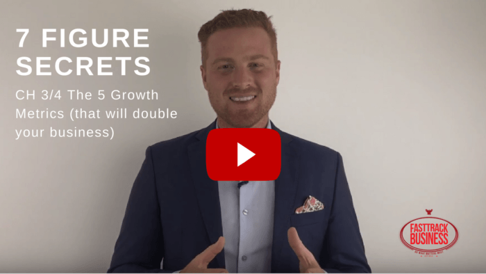 The 5 Growth Metrics (That Will Double Your Business)